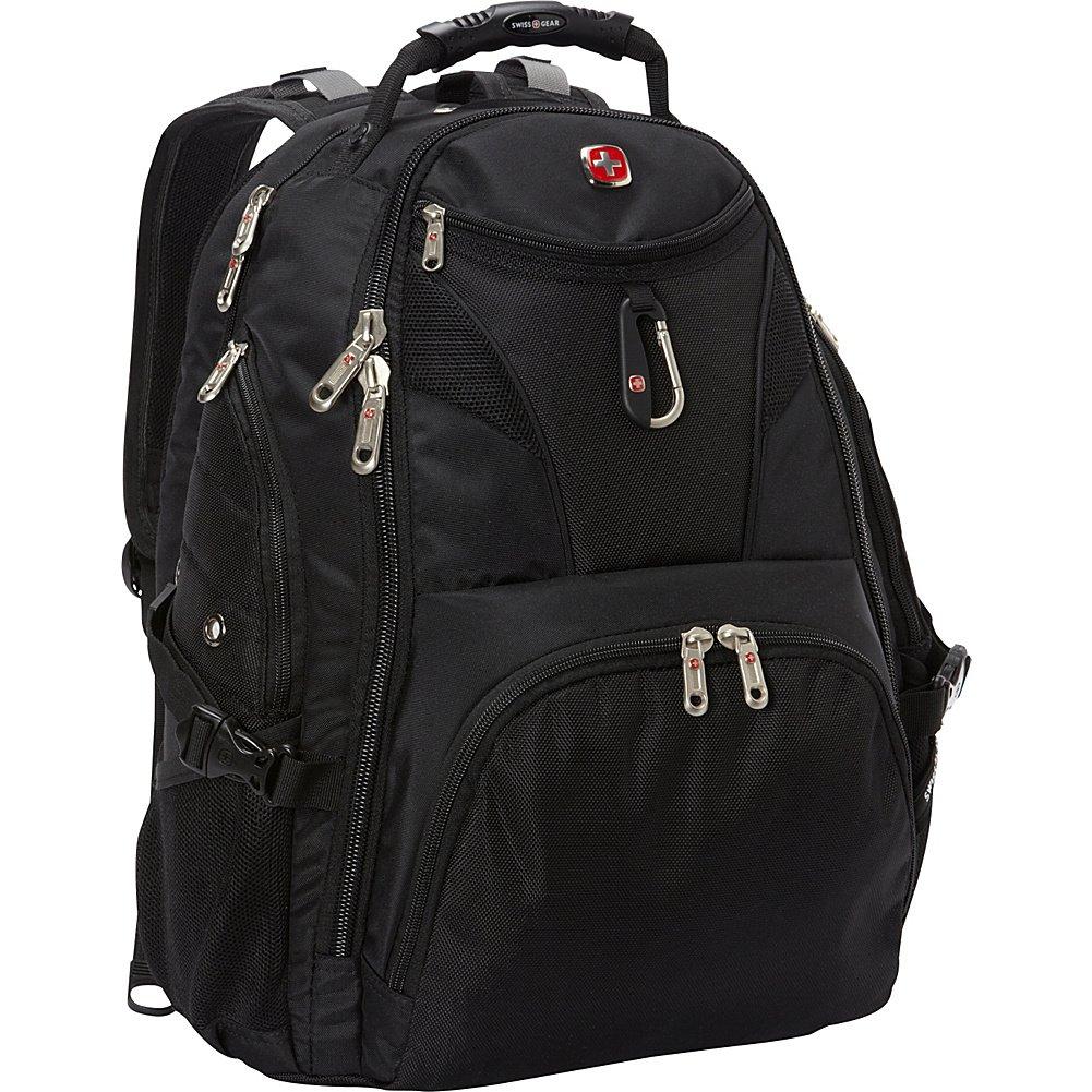 SwissGear Travel Gear 5977 Scansmart TSA Laptop Backpack for Travel, School & Business - Fits 17 Inch Laptop - (Black) by Swiss Gear