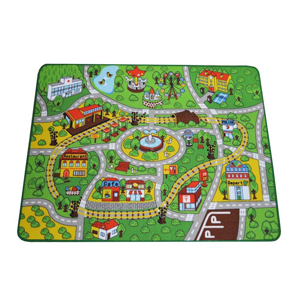 Alfombras de los niños Área de juegos Cobertor del coche Niños que aprenden alfombras / las mantas de los niños Muchachos Muchachas Cuarto de niños ...