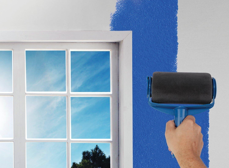 Paint Runner Pro rodillo cepillo pintura manija herramienta Edger sala de la pared pintura para el hogar de la habitaci/ón jard/ín de la sala de pintura multifunci/ón rodillo cepillo conjunto