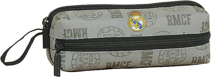 Safta 842008823 Estuche portatodo triple 3 cremalleras escolar Real Madrid CF: Amazon.es: Equipaje