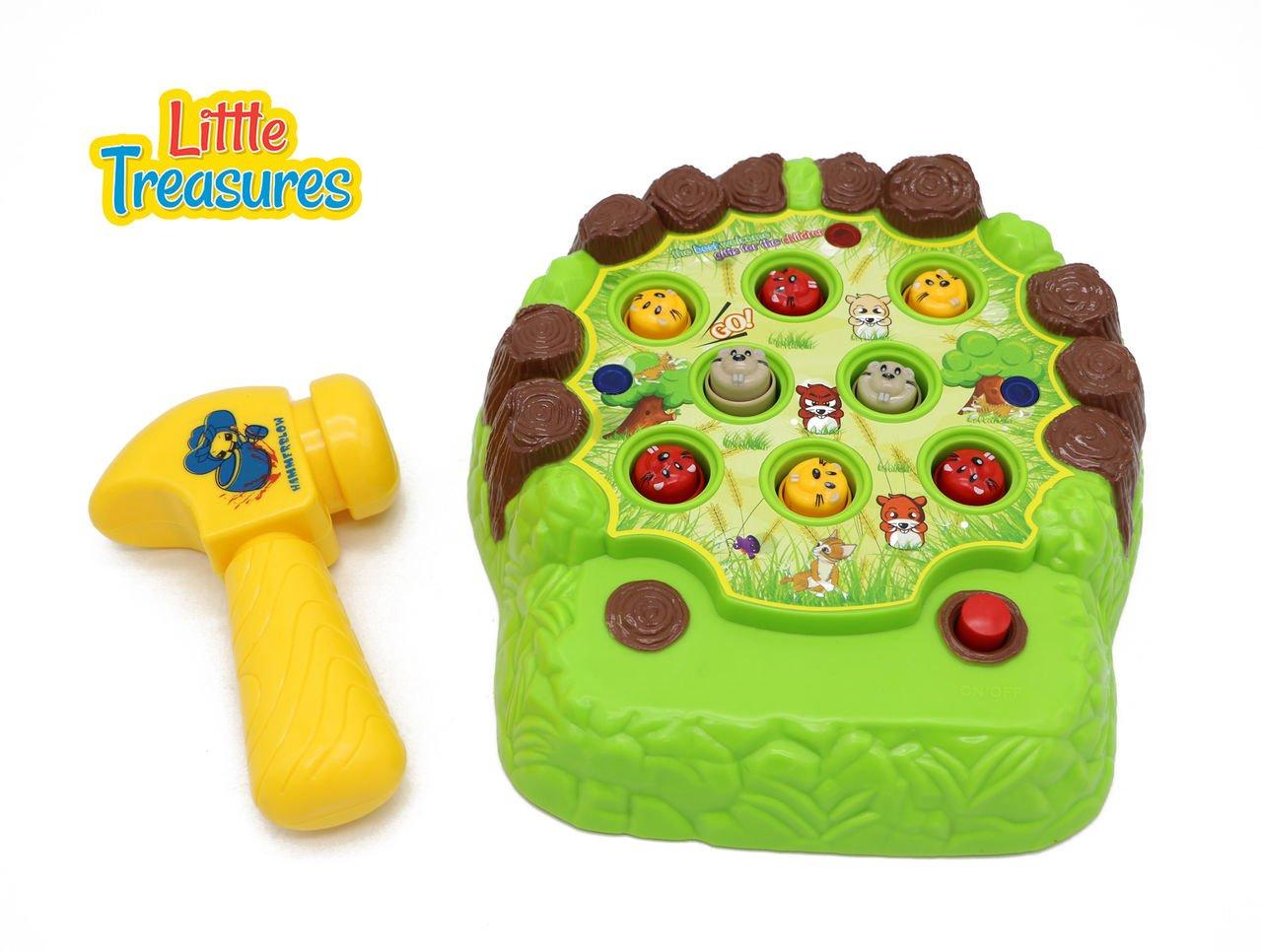 [リトルトレジャー]Little Treasures Whack the Vermin Down with This Pop up Whack A Mole Game Set With Fun Soft Tip [並行輸入品]   B01D8N9UEW