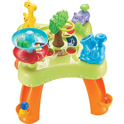 Small World Toys Animal Ball Chase Activity Table Table, Table: Toys & Games