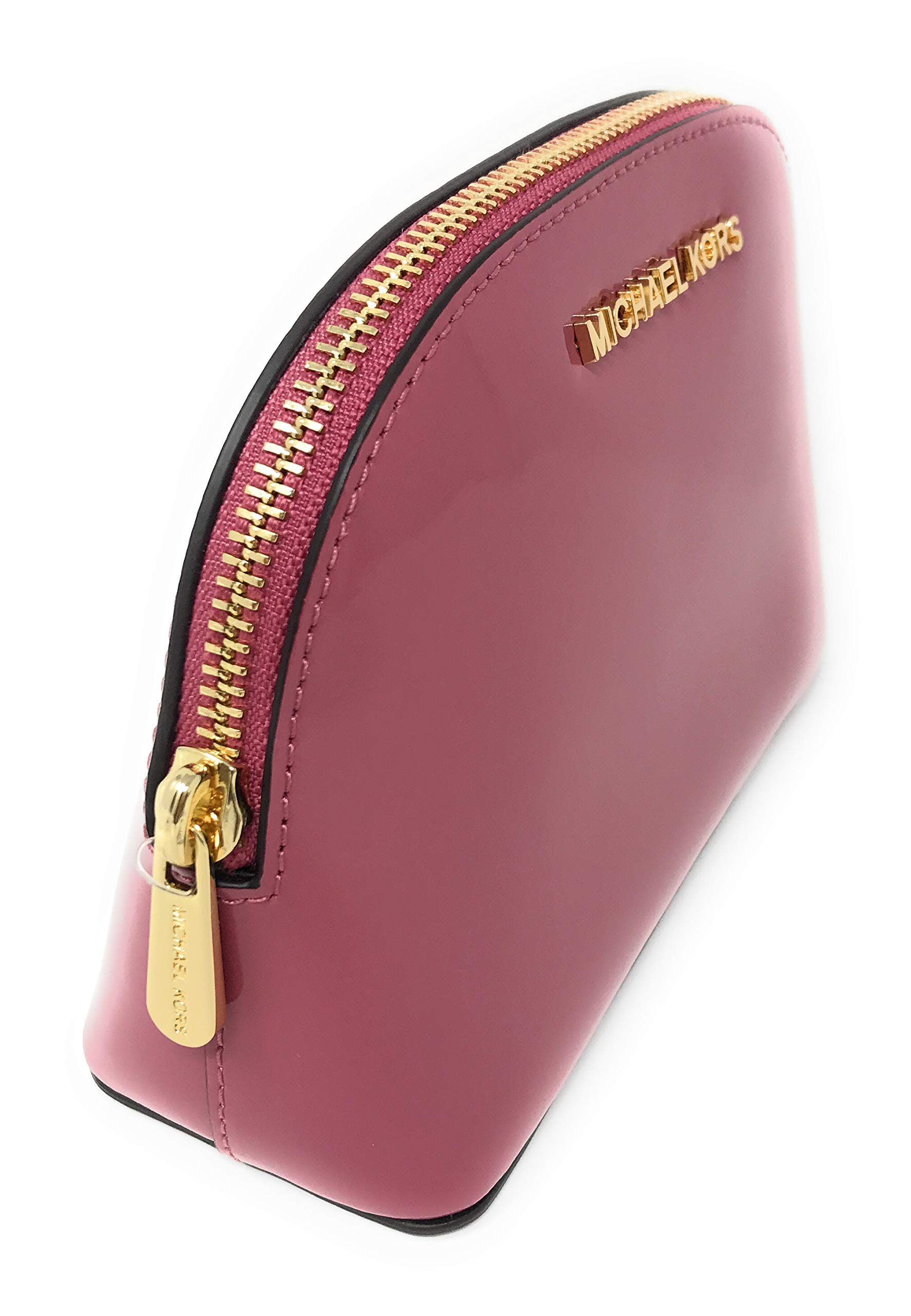 Michael Kors Jet Set Travel Patent Leather Cosmetic Travel Pouch (Tulip) by Michael Kors (Image #2)