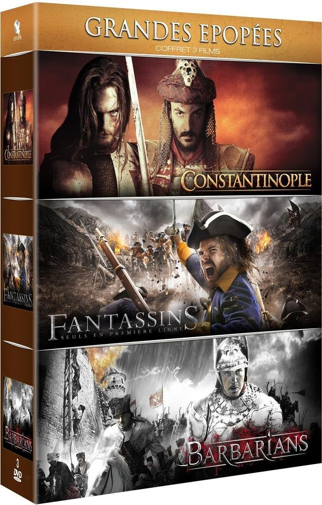 Grandes épopées : Constantinople + Fantassins + Barbarians DVD ...