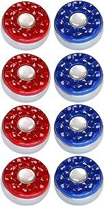 """GAO Shuffleboard Pucks for Pro Shuffleboard Table- 8 Pack 2-5/16"""" (58mm) or 2-1/8"""