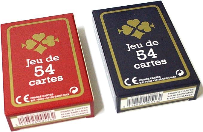 Deux jeux de 54 cartes