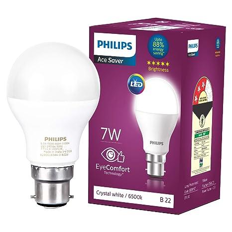 Philips Base B22 7 Watt Led Bulb Cool Day Light