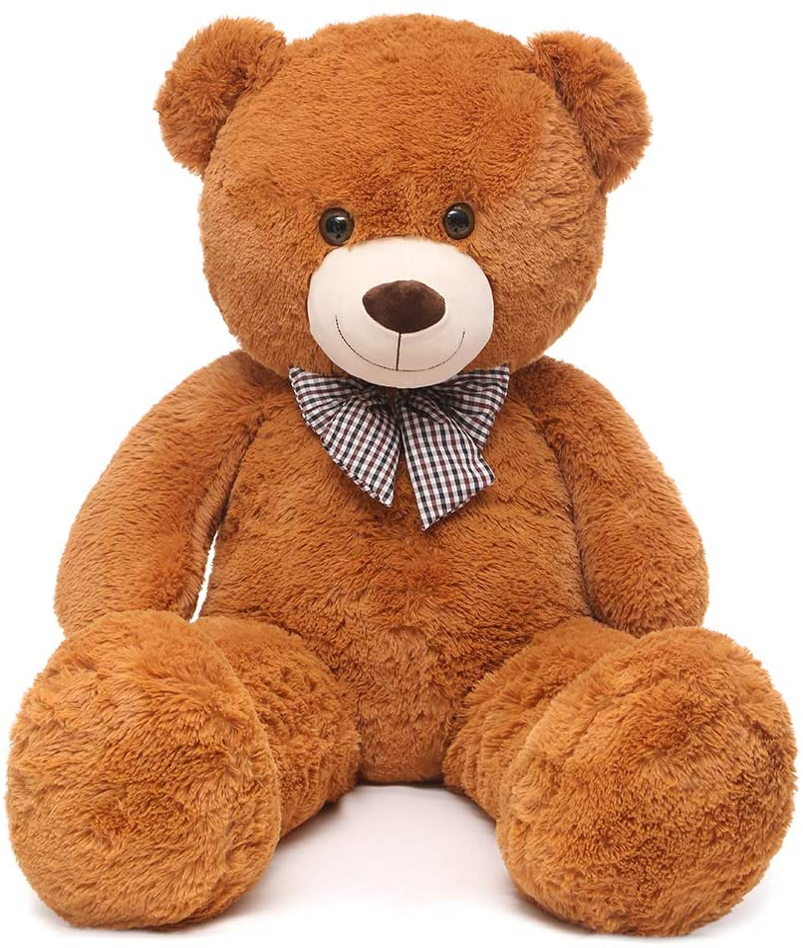 Hay Hay Chicken Stuffed Animal, Amazon Com Maogolan Giant Teddy Bear Big Stuffed Animals Plush For Girlfriend 47 Inch Brown Toys Games