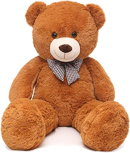 Giant Teddy Bear Plush Stuffed Animals for Girlfriend or Kids 47 inch Pink Huge