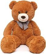 MaoGoLan Giant Teddy Bear Big Stuffed Animals Plush for Girlfriend,47 inch