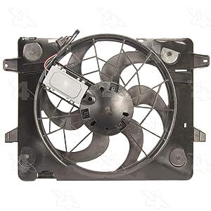 Four Seasons 75651 Radiator Fan Motor Assembly