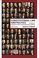 Constitutional Law and Politics: Struggles for Power and Governmental Accountability (Ninth Edition) (Vol. 1) Paperback