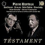 Pierre Monteux dirigiert Beethoven/Strauss/Saint-Saens/Strawinsky (Live-Aufn.1960)