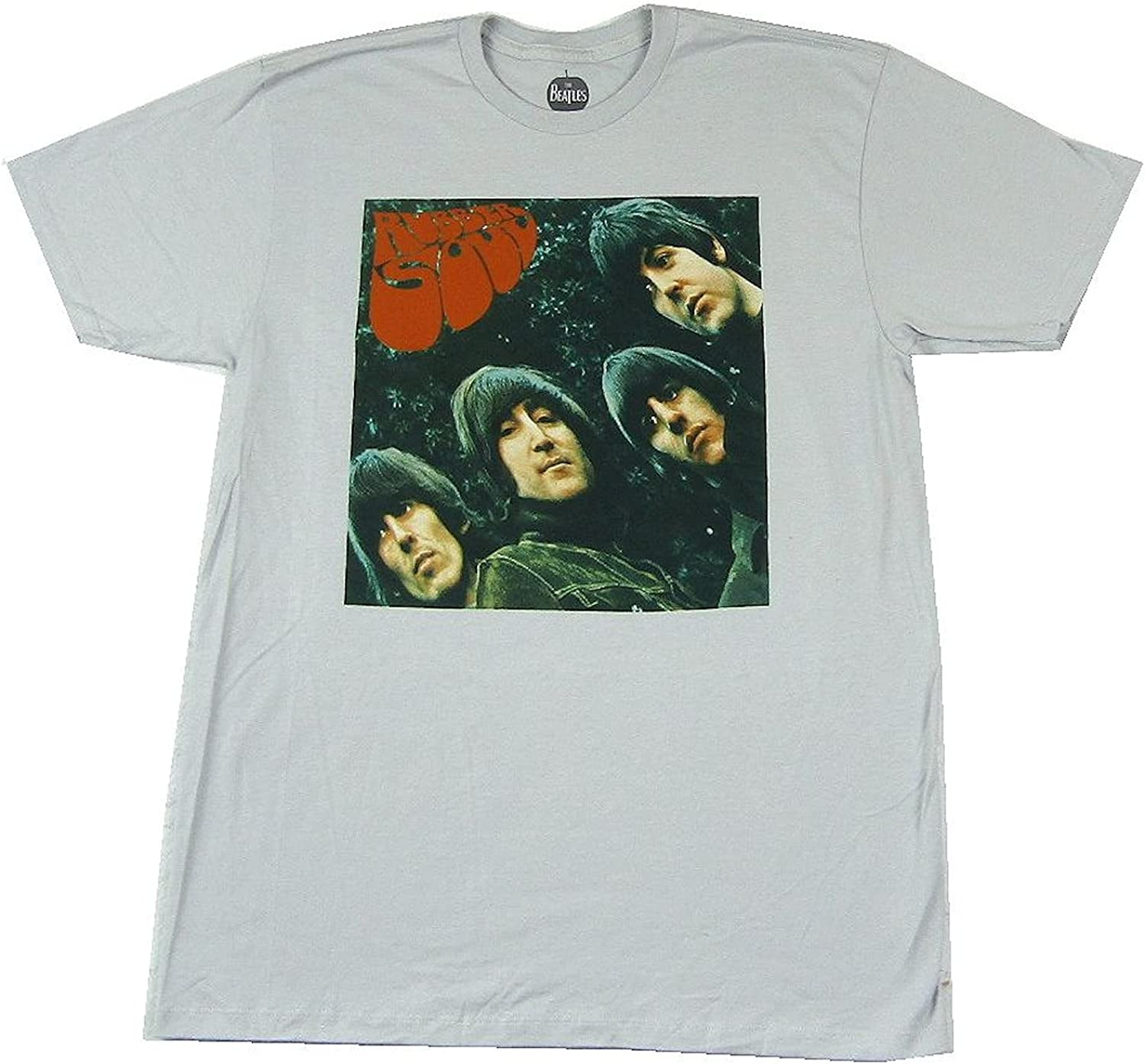 The Beatles Rubber Soul Silver Grey T Shirt