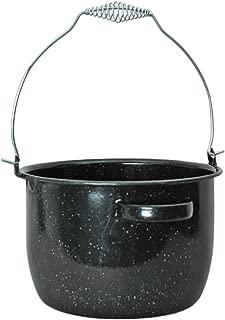product image for Granite Ware Preserving Kettle, 8-Quart, Black