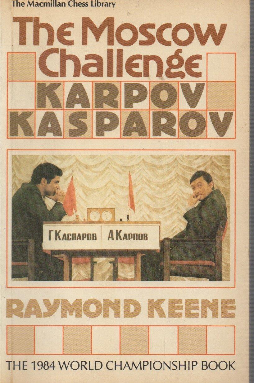 POSTER ANATOLY KARPOV VS KASPAROV 1985 MOSCOW WORLD CHESS CHAMPIONSHIP