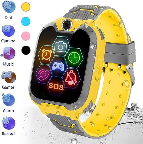 HuaWise Kids Waterproof Smartwatch bright yellow