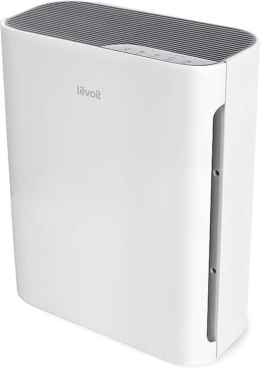 LEVOIT purificador de aire para el hogar con filtro HEPA verdadero, limpiador de aire para alergias