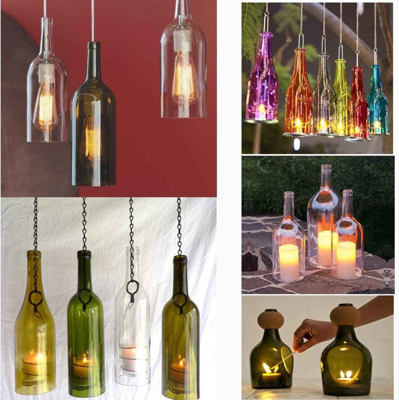bi/ère Dyna-Living Lot doutils de coupe 4 en 1 pour bouteille de vin champagne et whisky