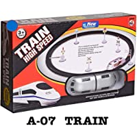 TS Playy Presents Good Quality High Speed Battery Operated Train Set for Kids (Small Metro)