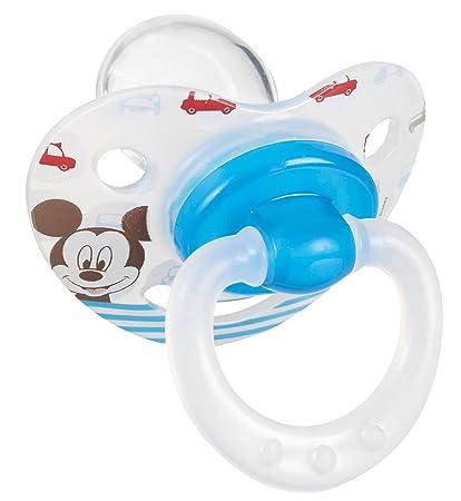 Tigex 80602535 Chupete Mickey de silicona: Amazon.es: Bebé