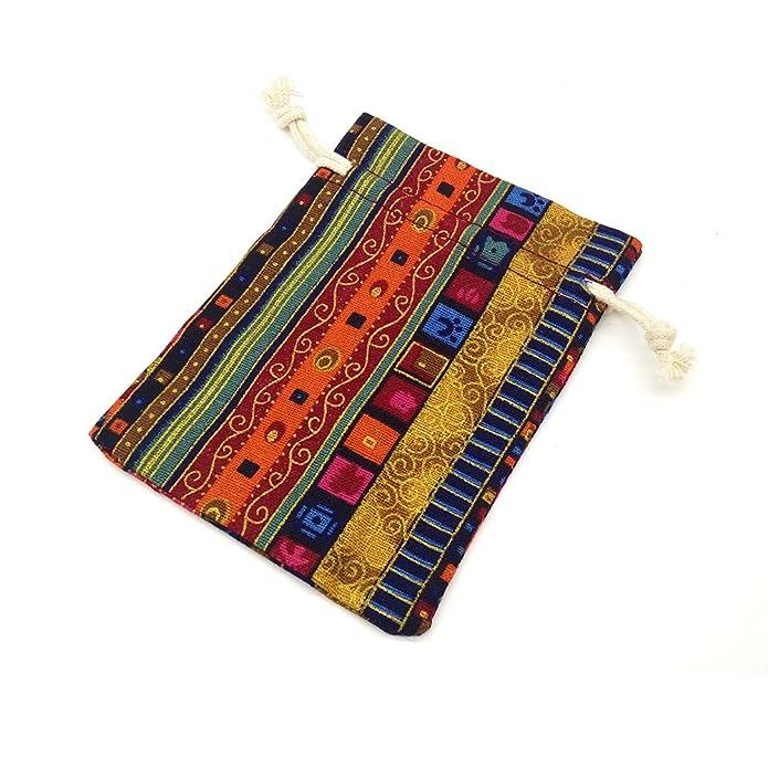 Amazon.com: Bolsa de regalo de estilo egipcio con cordón de ...
