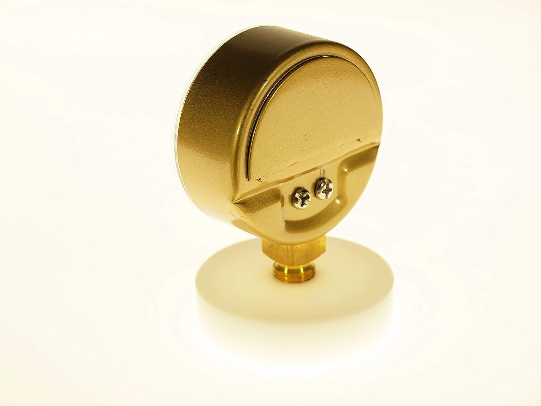 Manometro per saldatura per la misurazione della pressione di gas tecnici Ingresso THERMIS Manometro per saldatura 404   Connessione inferiore 0-40 bar