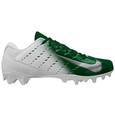 Nike Men's Vapor Untouchable Varsity Football Cleats 3 TD: White/Green (11.5 M) | Football