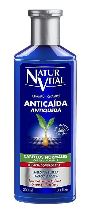 Naturaleza Y Vida Champú Anticaída Cabellos Normales 300 ml: Amazon.es