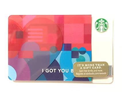 Amazon Com Starbucks 2015 I Got You Babe Valentines Day Gift Card