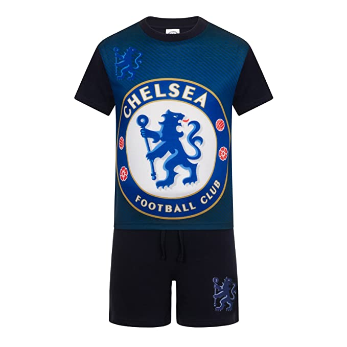 reputable site c3561 0a4fc Chelsea Football Club Official Soccer Gift Boys Kids Short Pajamas