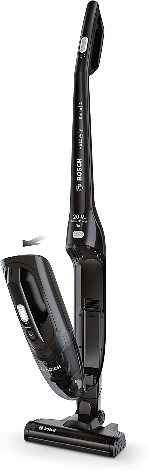 Bosch BBHF220 - Aspirador Escoba 2 en 1, Color Negro: Amazon.es: Hogar
