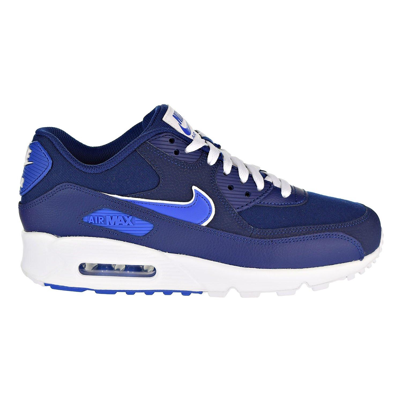 Nike Air MAX 90 Essential, Zapatillas de Gimnasia para Hombre 44.5 EU Azul (Blue Void/Game Royal/White 401)
