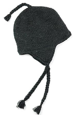 Three Cranes Gallery Men s Wool Sherpa Hat - Black at Amazon Men s ... ccb0cf715f0