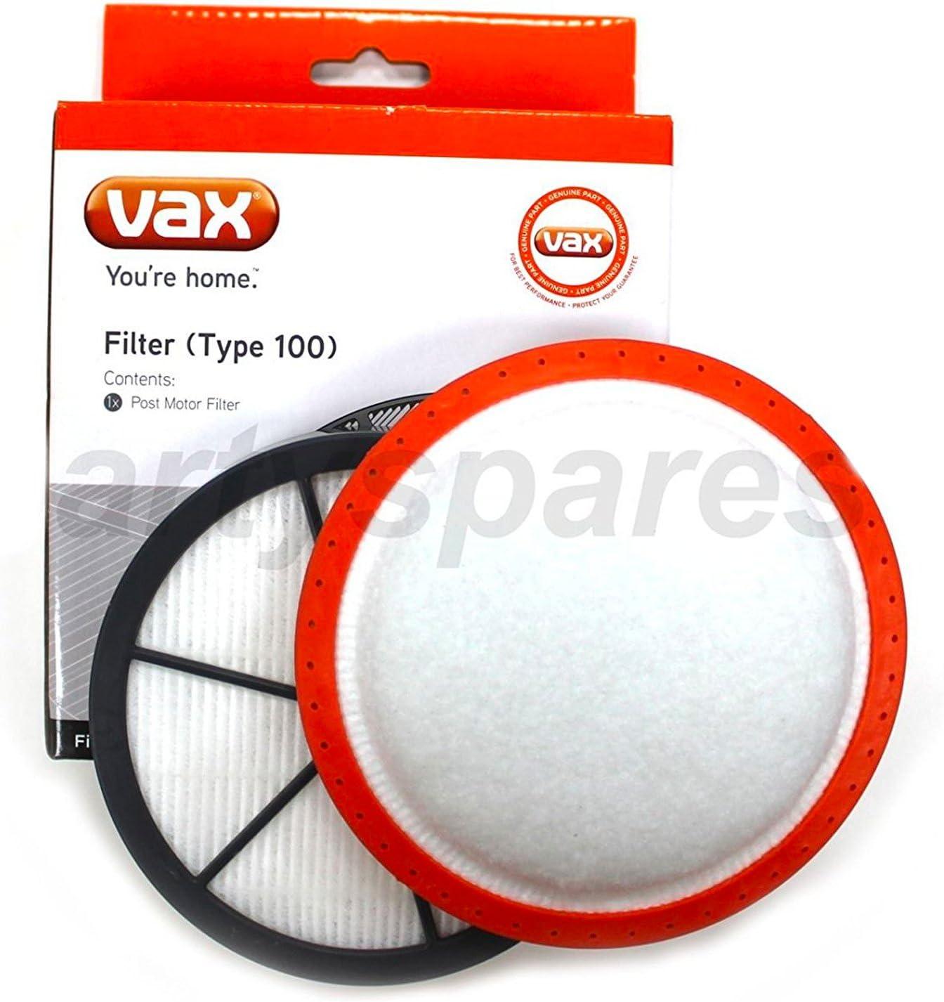 VAX Vacuum Cleaner Type 100 Post Motor Filter AIR 3 AGILE U87-AA-BE