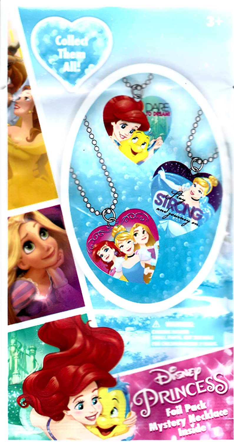 H.E.R Accessories Disney Princess Mystery Necklace Blind Foil Pack