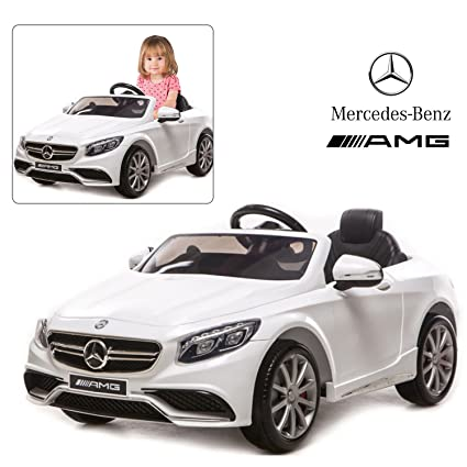 02929593f9a6 Official Licensed Mercedes Benz Ride On Car with Remote Control for Kids    12V Power Battery