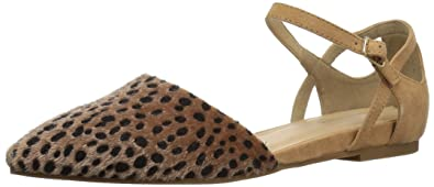 CL by Chinese Laundry Women's Helena Pointed Toe Flat, Cheetah, ...
