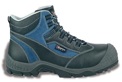 Zapato de seguridad S3 Somalia Cofra trabajo zapatos botas de seguridad Protector de plástico tapa cuero