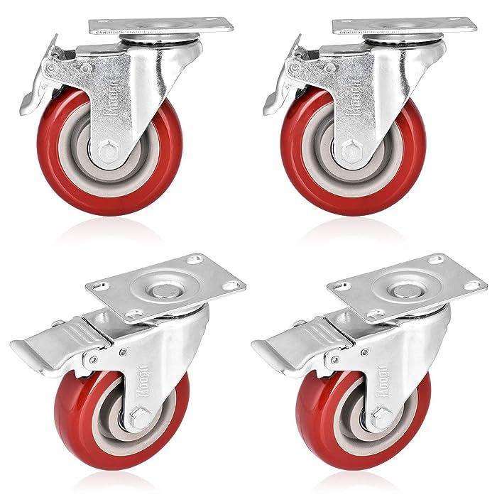 Top 10 Spacecare 4 Rubber Locking Swivel Wheels Telescopic Furniture