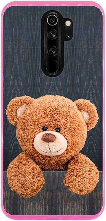 Hapdey Funda Rosa para [ Xiaomi Redmi Note 8 Pro ] diseño [ Lindo ...