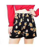 FADAYINH Women's Shorts Beach Shorts Pom Pom Shorts Tassel Shorts Casual Shorts Summer Beach Shorts