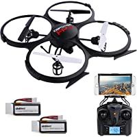 DBPOWER U818A Wi-Fi FPV RC Drone with HD 4-Channel Camera