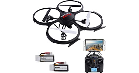 DBPOWER U818A Wi-Fi FPV RC Drone only $49.99