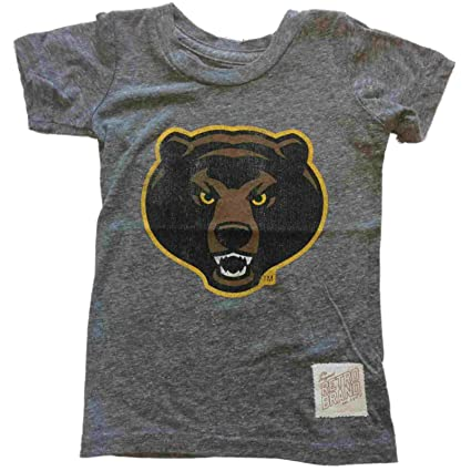 Baylor Bears Retro Marca bebé Angry Bear Soft Tri-Blend playera de manga  corta 0630f9dbe56f2
