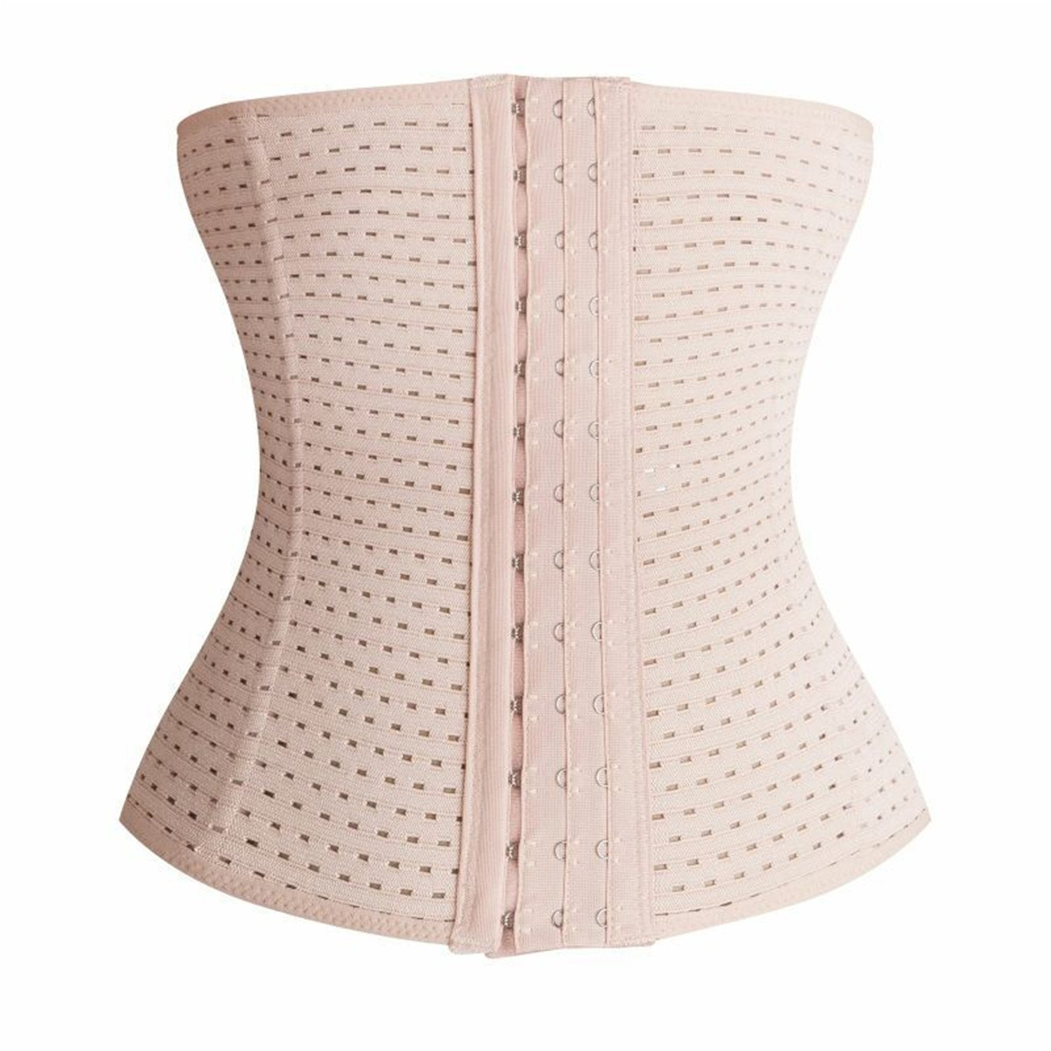 PULABO Slimming Body Shaper Belly Corsets Waist Trainer Training Corset Women RZT-2566 RZT-2566-Nude-3XL