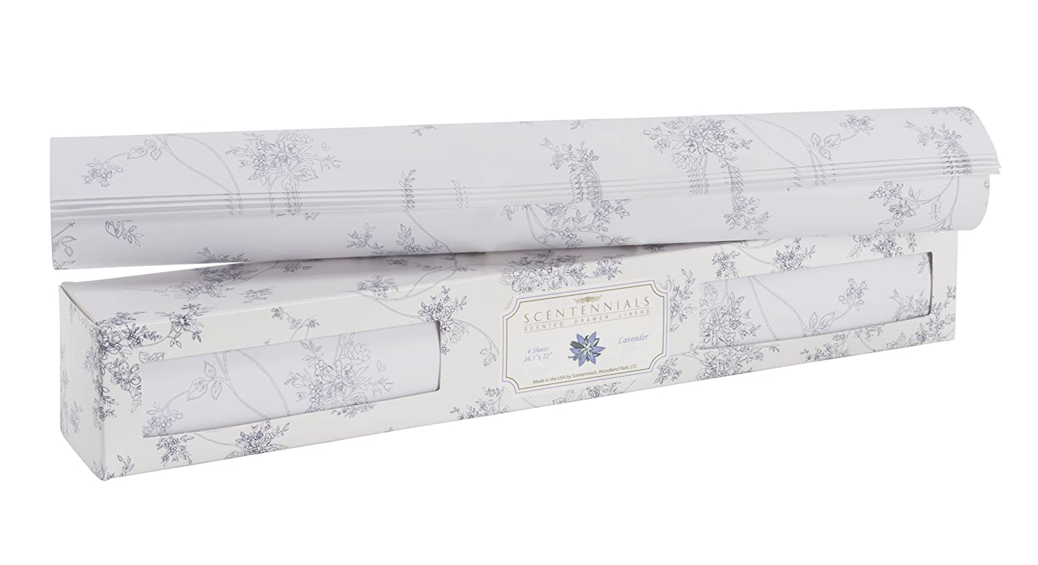 Original Series Scented Drawer Liners From Scentennials (Lavender) Scentennials Products