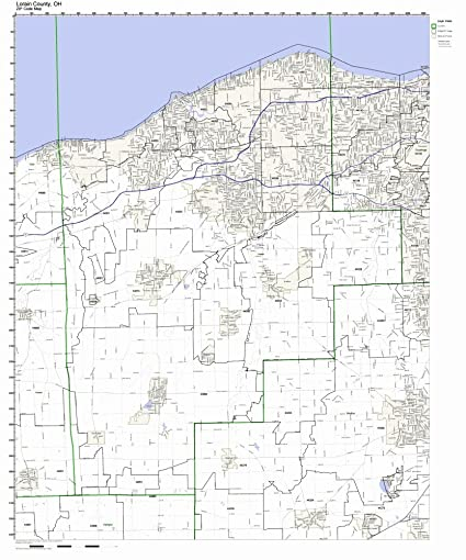 ohio zip codes by county