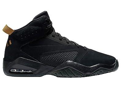 28a8a4189d Jordan Lift Off - Mens Black/Metallic Gold Leather Basketball Shoes 9 D(M