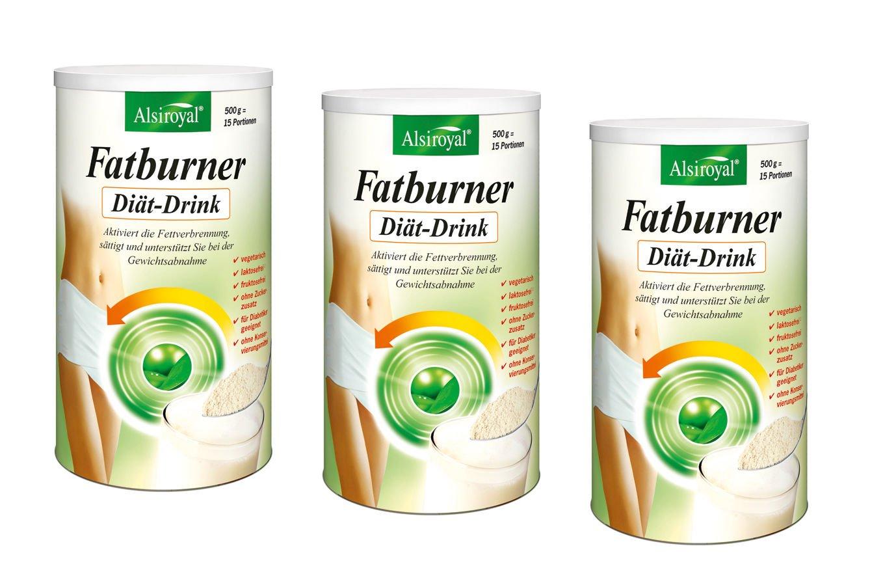 Alsiroyal Figura Fatburner Diet Drink 3 X 500 G Amazon Co Uk